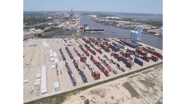 $12,700,000 federal grant announced for the Port of Mobile