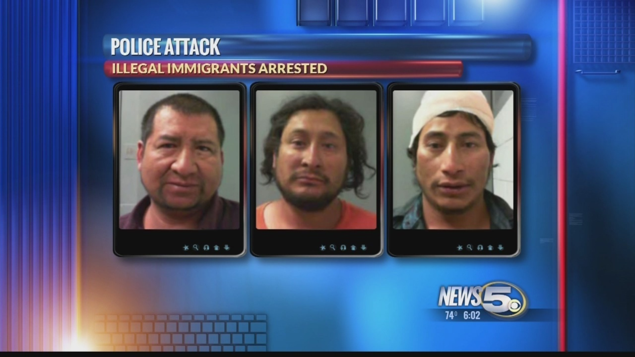 Illegal Immigrants Attack And Bite Summerdale Cop