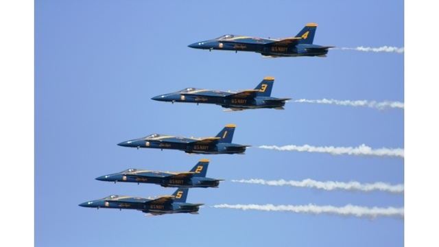 Blue Angels take off for 2018 season
