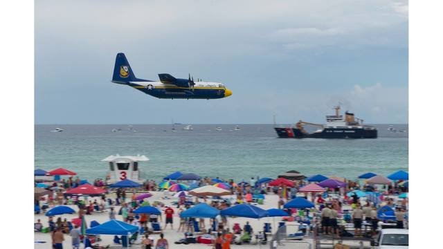After Year Hiatus, Blue Angels' Fat Albert Expected to Take Flight