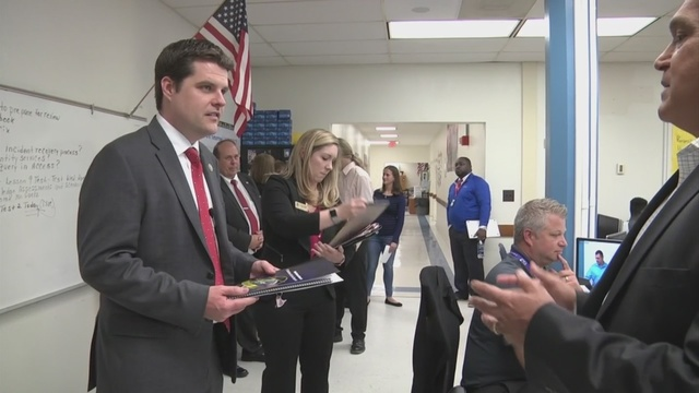Congressman Gaetz gets national attention