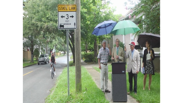 City of Mobile Unveils New Bike Safety Signs