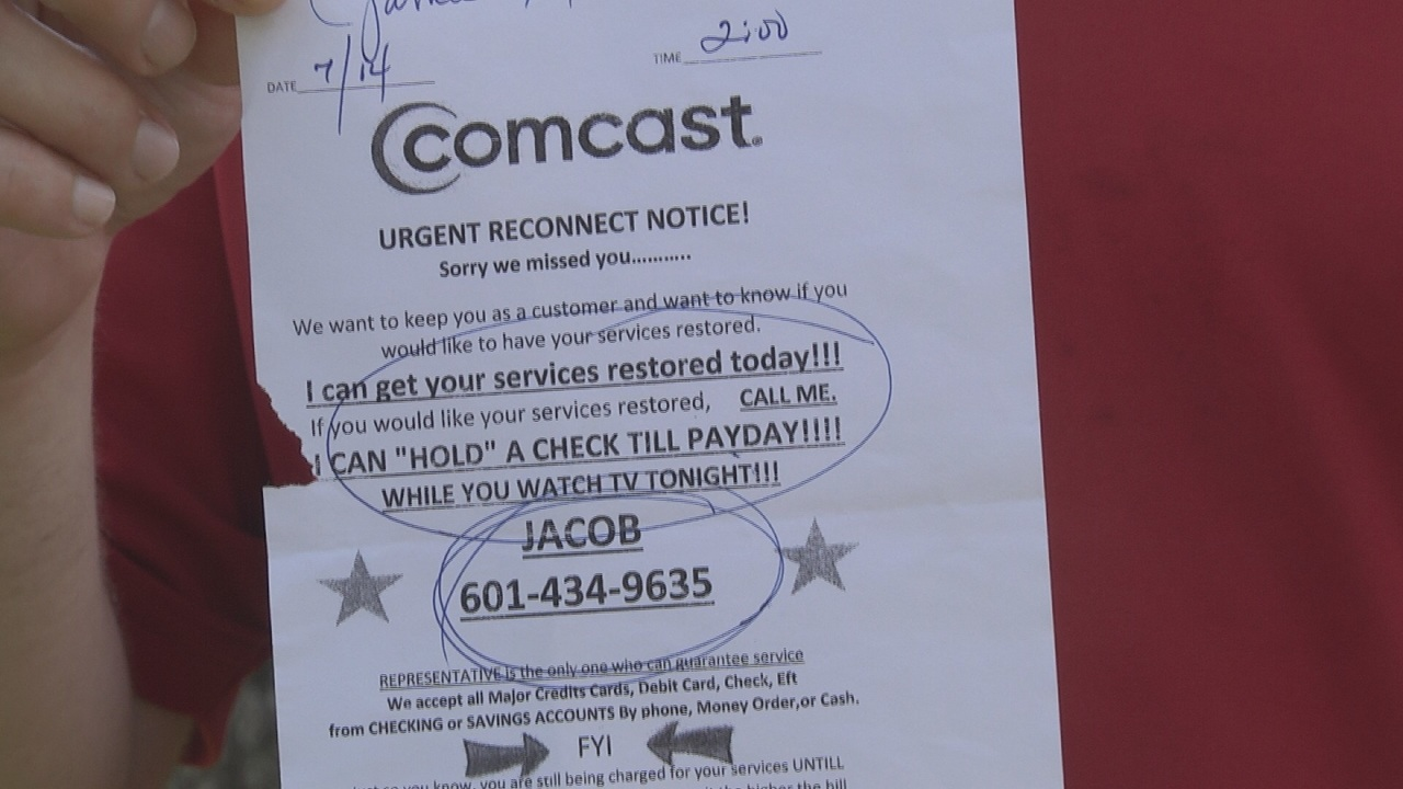 Scambuster: Cable Company Flyer