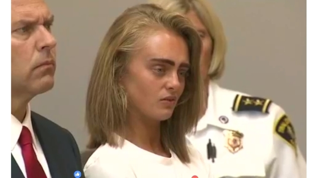 BREAKING: Michelle Carter sentenced to at least 15 months in texting suicide case