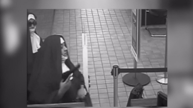 Women Dressed as Nuns Try to Rob A Bank