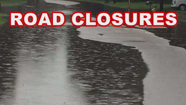 UPDATE: Three Mobile County roads closed due to flooding now open