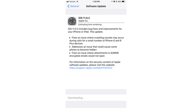 Apple Issues Update to fix