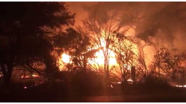 Wildfire Burns Parts of California, Residents Evacuate