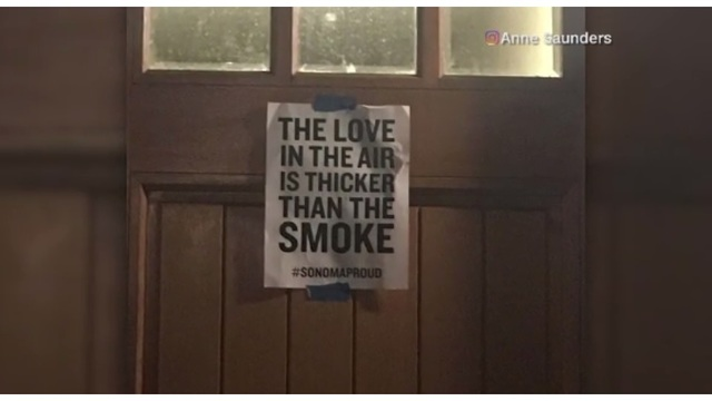 California Residents Rally 'The Love in the Air is Thicker than Smoke'