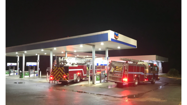 Grand Bay Fire Responds to Possible Fire, Heavy Smoke from Heater