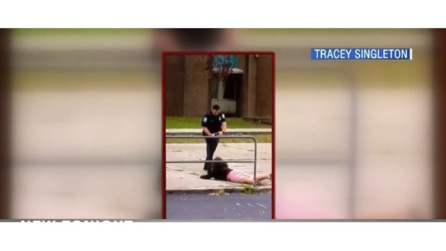 New video shows officer using taser on middle school student