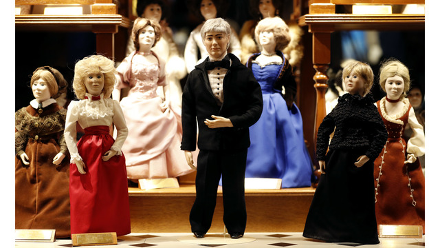 Husband of Iowa's 1st woman governor gets 'first lady' doll