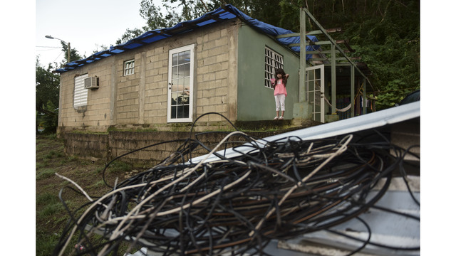 Officials: Nearly half of Puerto Rico clients still without power