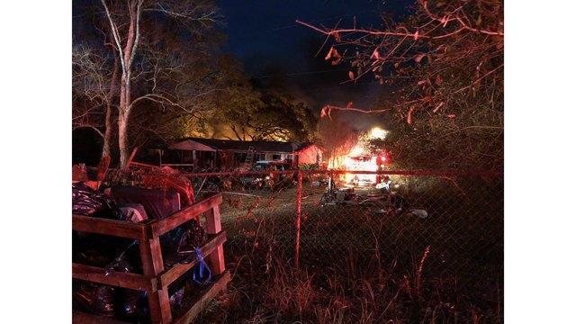Multiple Fire Units Respond to Explosion, Residential Fire in West Mobile