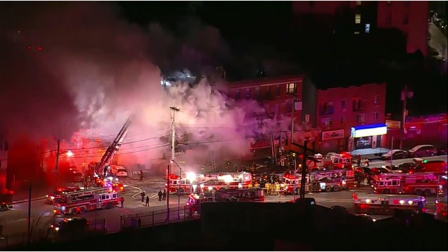 Multiple People Injured in Massive Early Morning Fire