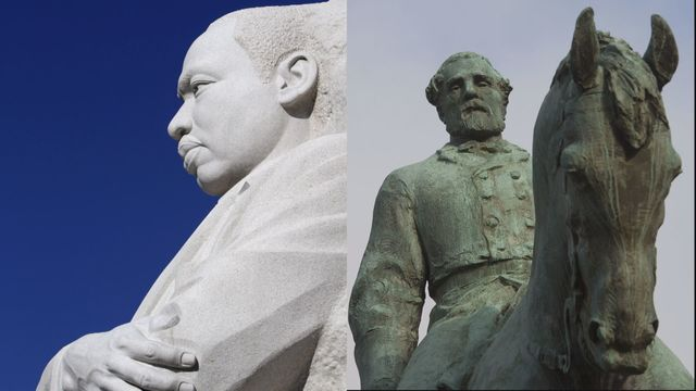Alabama, Mississippi still jointly celebrate Martin Luther King Jr. and Robert E. Lee