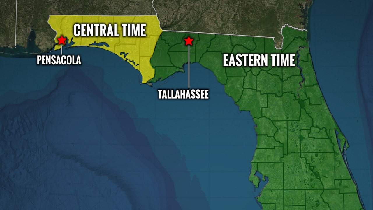 Northwest Florida in Eastern time zone? Bills would unify state ...