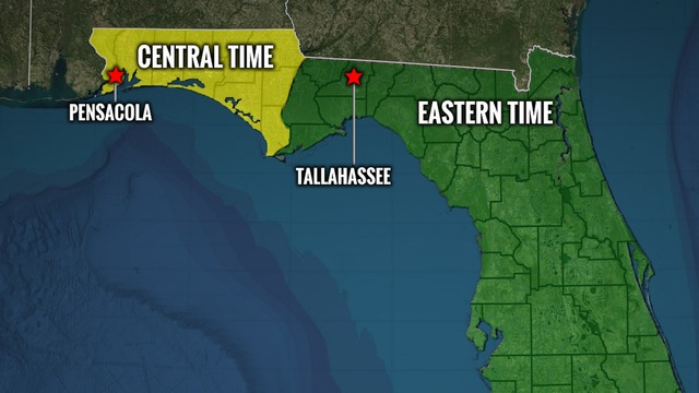 Northwest Florida In Eastern Time Zone Bills Would Unify State
