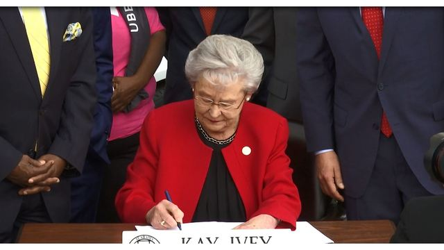 Governor Ivey signs bills providing pay raises for educators, state employees