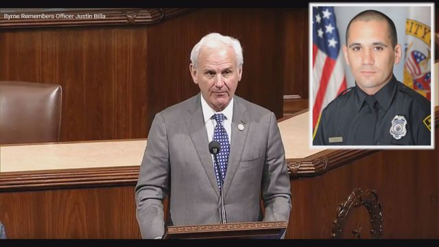 Rep. Byrne honors Officer Billa in speech to U.S. House