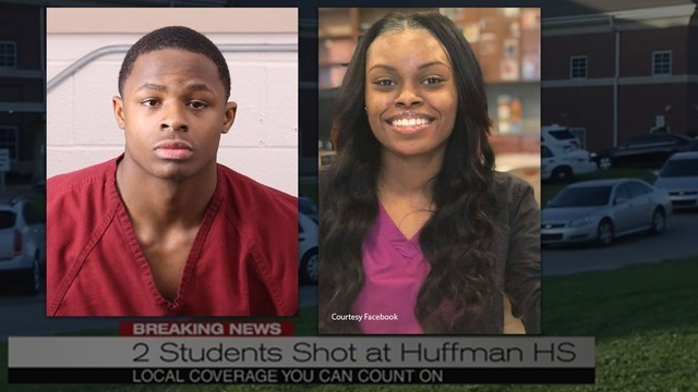 Teen charged with manslaughter in Huffman High School shooting death of Courtlin Arrington