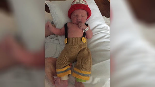Family welcomes son of fallen Tennessee firefighter