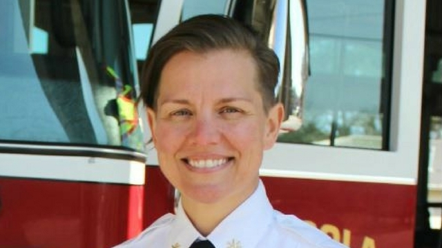 Pensacola City Council appoints first female fire chief