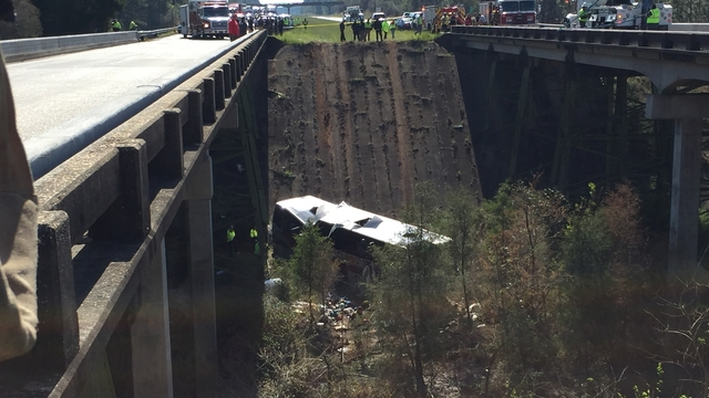 Texas school on bus crash: Focus on getting 40 students, six adults back safely to community
