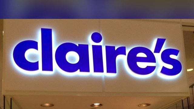 Claire's jewelry chain files for bankruptcy