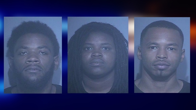Three arrested for breaking into cars at Gulf State Park Pier