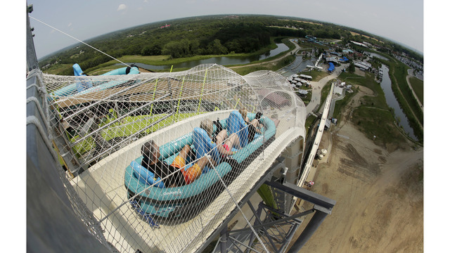 Schlitterbahn and former water park executive charged in boy's death