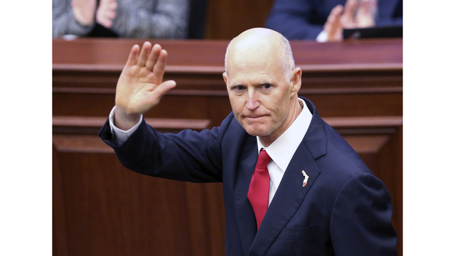 Florida Governor Rick Scott signs 18 bills into law; vetoes one