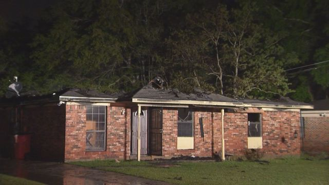 Overnight house fire in the Crichton Community