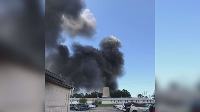 Cause of Eglin Air Force Base Climatic Lab fire released