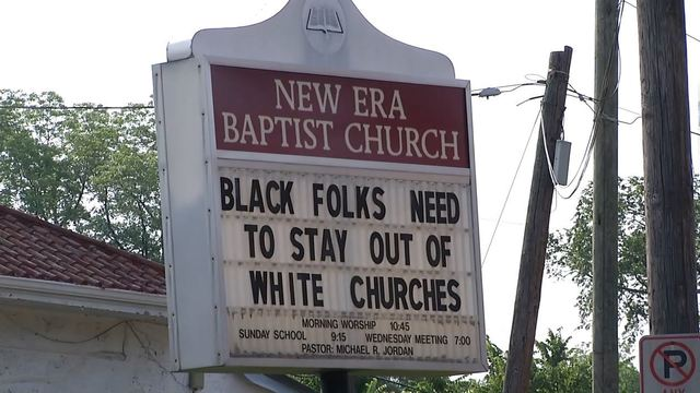 Birmingham Mayor calls for controversial church sign to come down