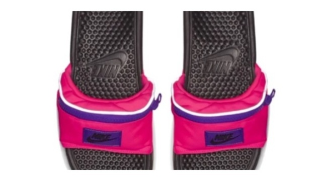 cdee7eae7c35 SLIDESHOW  Nike Fanny Pack Sandals