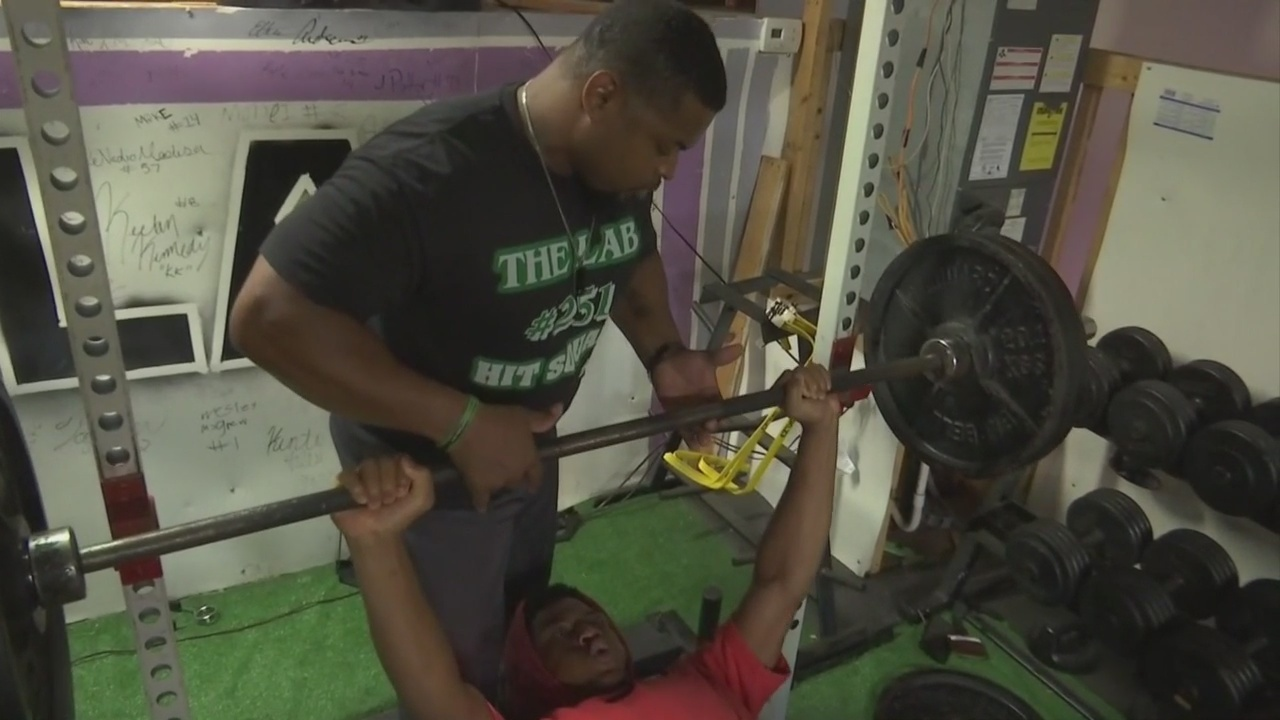 Local Gym Training Mobile's College Football Stars