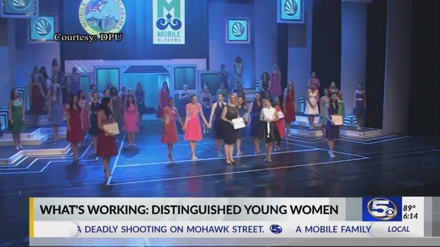Distinguished Young Women 2018 winner