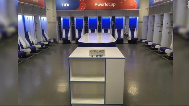 After defeat, Japan's World Cup team leaves spotless locker room & 'thank you' note