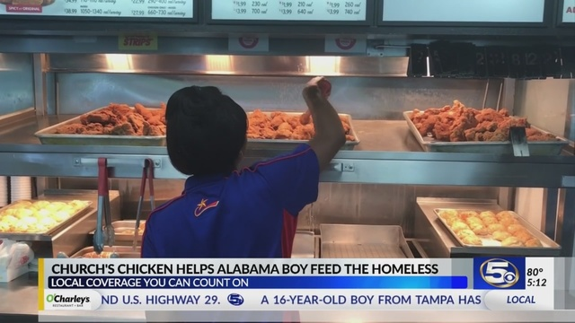 Fast Food Chain To Honor Alabama Boy On National Fried Chicken Day