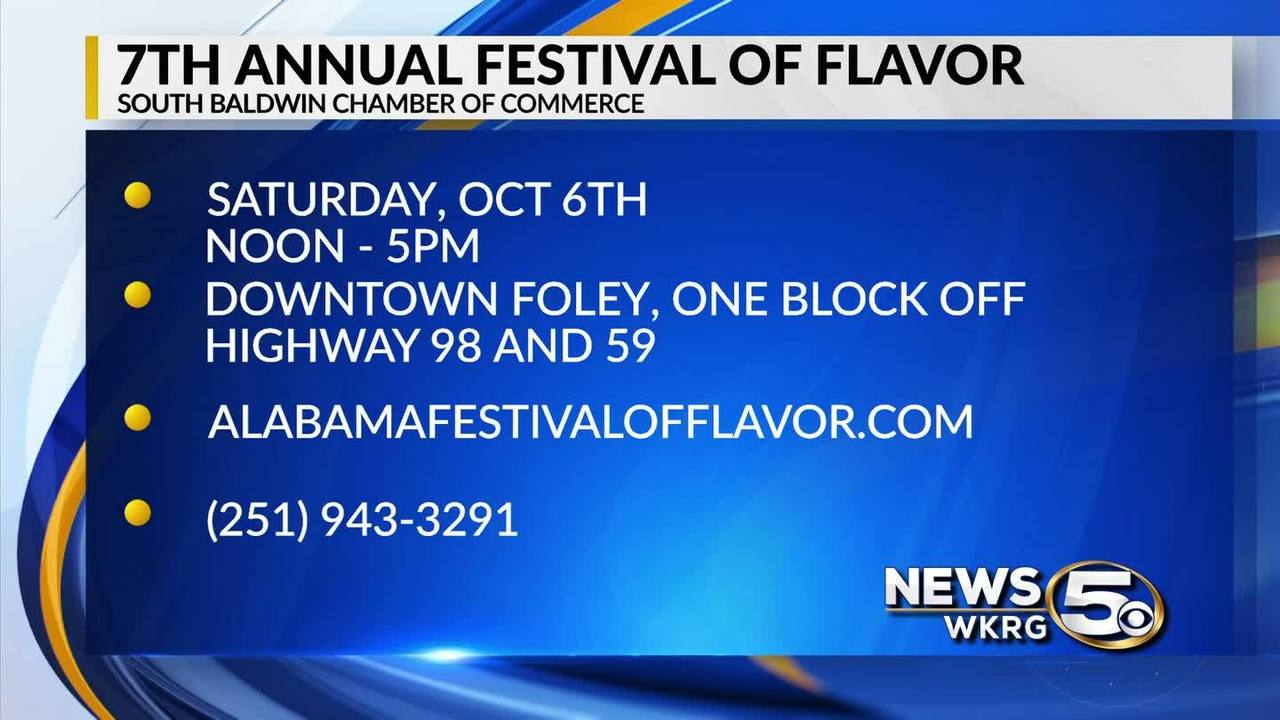 mark your calendar 2018 festival of flavor