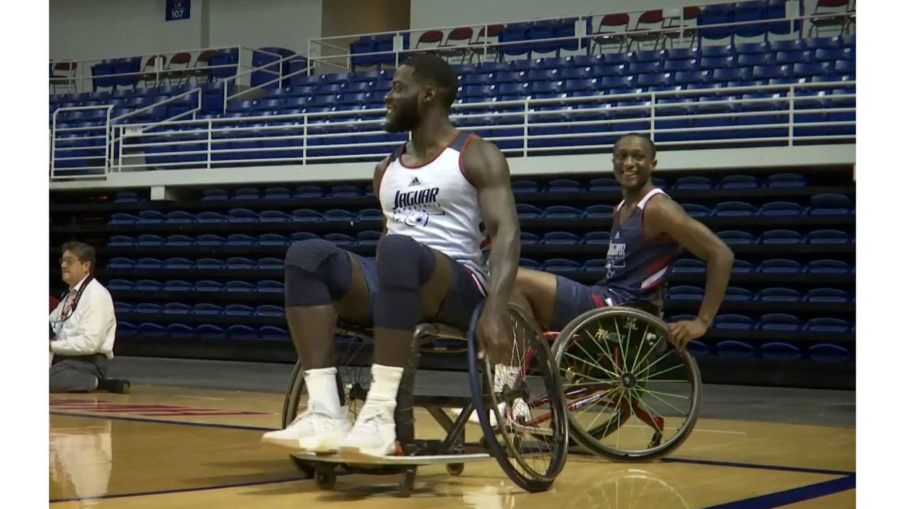wkrg.com - Robby Baker - Jags host Mobile Patriots in Charity Basketball Game