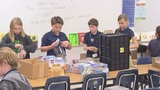 What's Working: Supporting troops one box at a time
