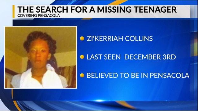 BREAKING: ESCO searches for missing Pensacola teenager
