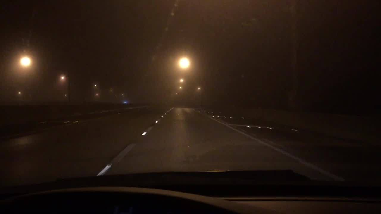 heavy fog blankets region early sunday morning