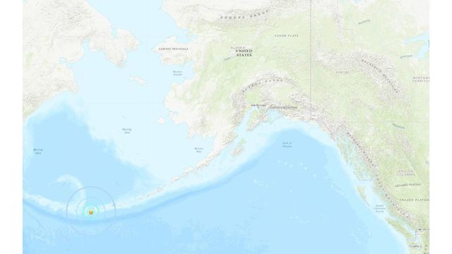 6 1 Magnitude Earthquake Hits Southwest Of Adak Alaska