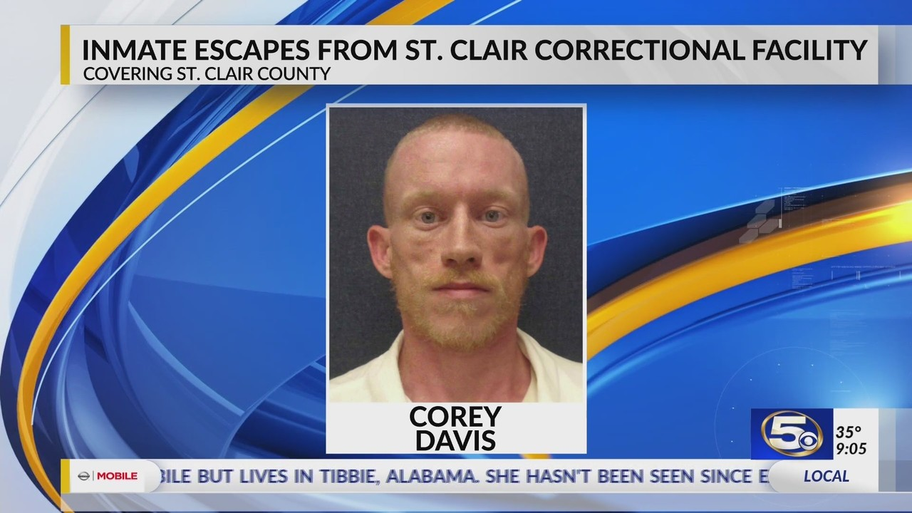 BREAKING: Inmate escapes from St  Clair Correctional Facility