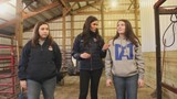 Sisters help represent future of female farmers