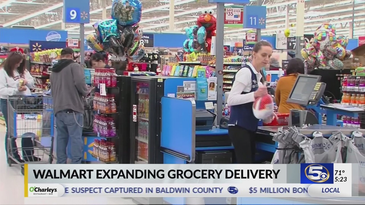 VIDEO Wal Mart Expanding Grocery Delivery In Baldwin County