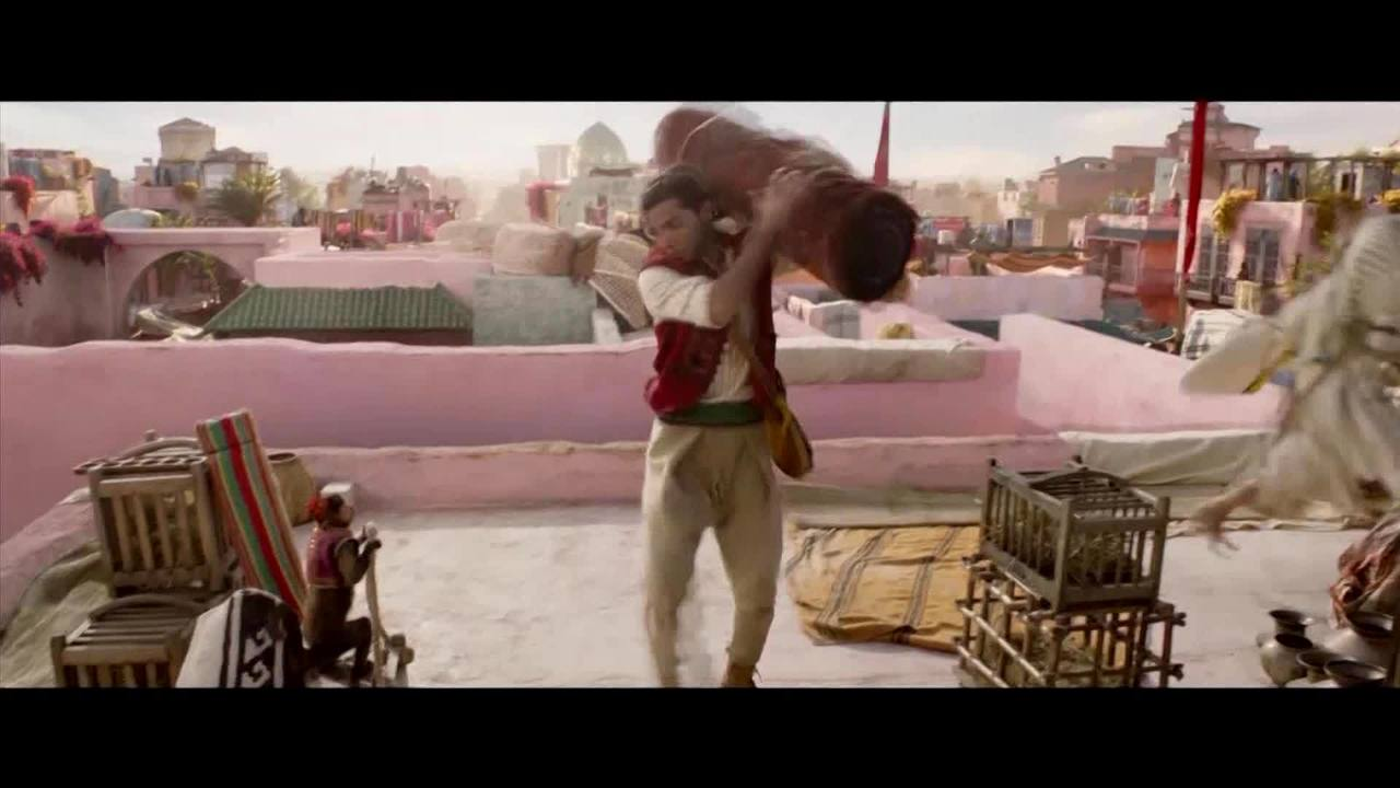 New Live Action Quot Aladdin Quot Trailer Released